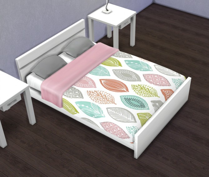 Double Bed Recolors/Overrides at Saudade Sims image 761 Sims 4 Updates