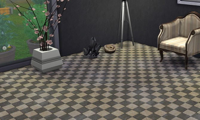7 tiled floors vol 3 at K hippie image 7718 Sims 4 Updates