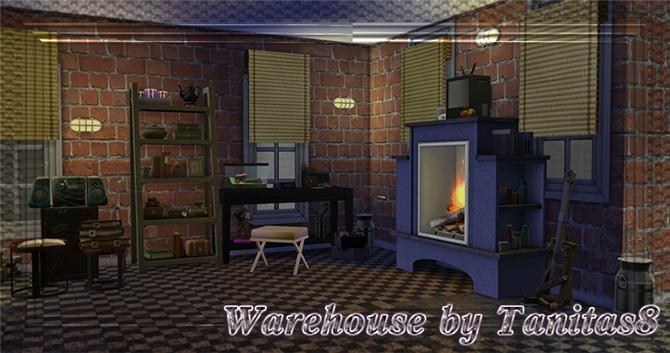 Sims 4 Warehouse by Tanitas8 at Ladesire