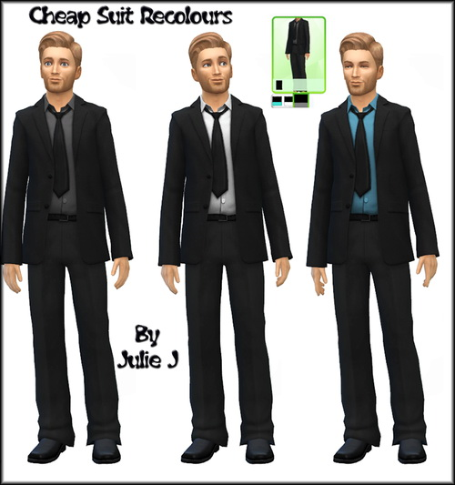 Male Business Suits Recoloured at Julie J image 8018 Sims 4 Updates