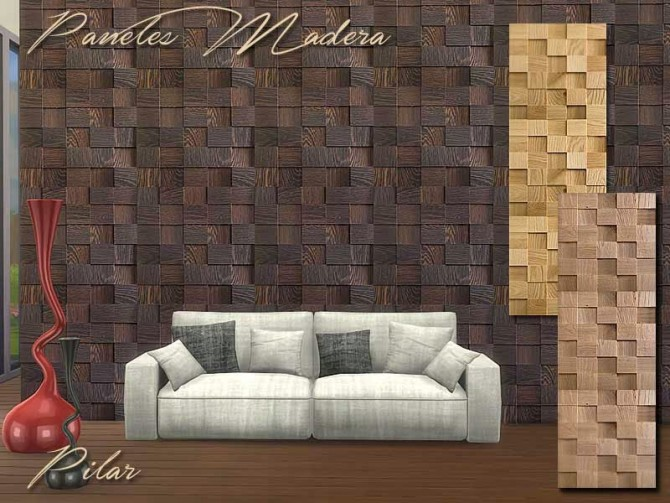 Wood Panels by Pilar at SimControl image 8020 Sims 4 Updates