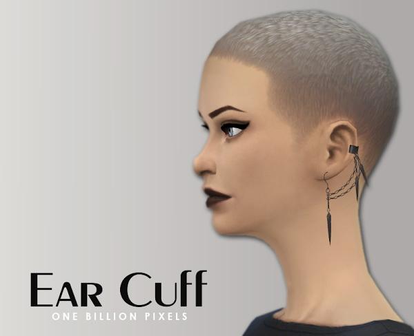 Sims 4 Ear Cuff at One Billion Pixels