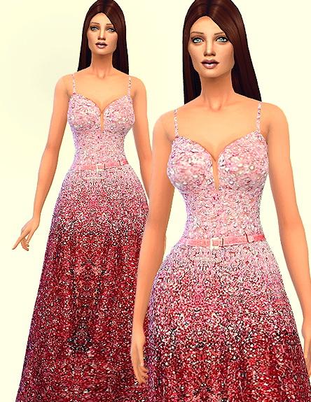 Sims 4 Holiday dress at Ecoast
