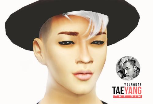 Taeyang For Sims 4 K Pop Inspired Sim At Simgarden 187 Sims