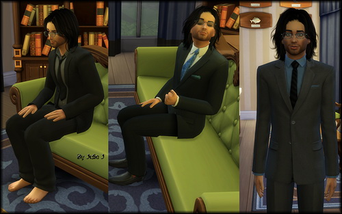 Male Business Suits Recoloured at Julie J image 8418 Sims 4 Updates