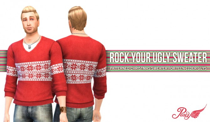 Sims 4 Rock Your Ugly Sweater at Simsational Designs