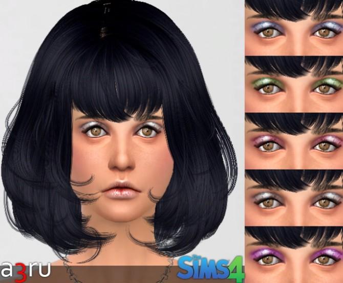 Sims 4 Dusty Eyeshadow at A3RU