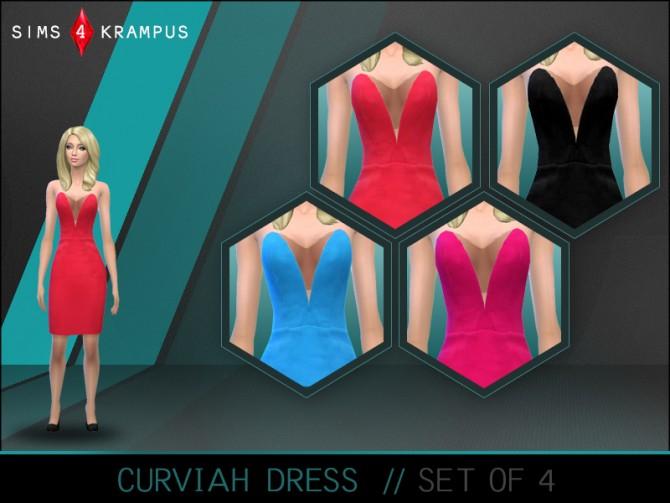 Dress at Sims 4 Krampus image 907 Sims 4 Updates