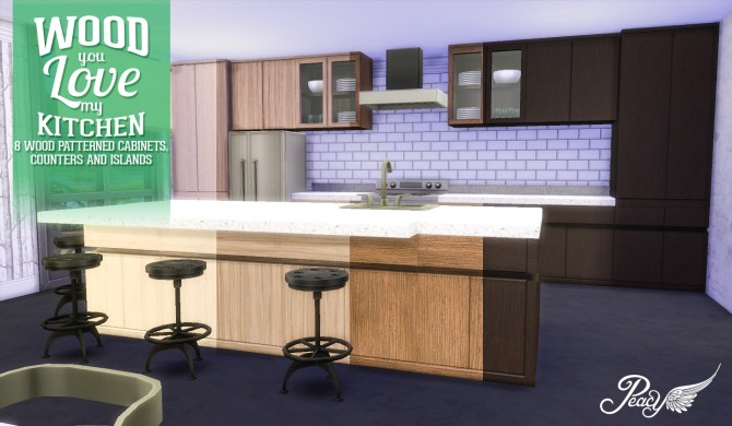 Wood You Love My Kitchen At Simsational Designs 187 Sims 4