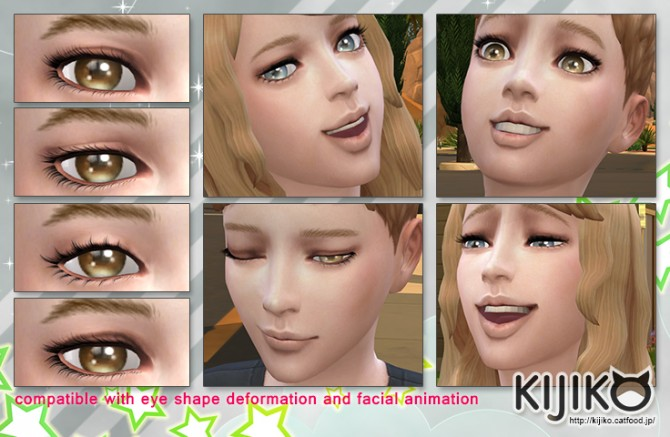 3D Lashes for Kids at Kijiko image 9212 Sims 4 Updates