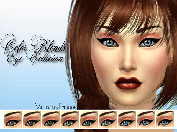 Victorias Fortune Color Blend Eye Collection at TSR image 928 Sims 4 Updates