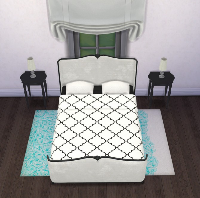 Sims 4 Recolors/Overrides of ShinoKCR's Power of Pink Double Bed at Saudade Sims