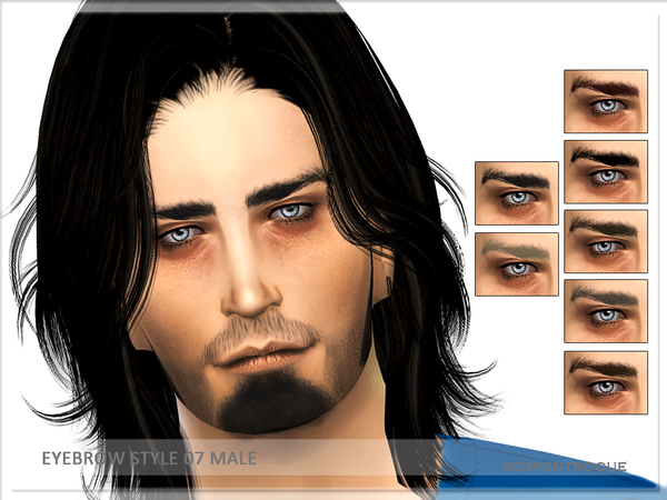 Eyebrow Style 07 Male by Serpentrogue at TSR image 981 Sims 4 Updates