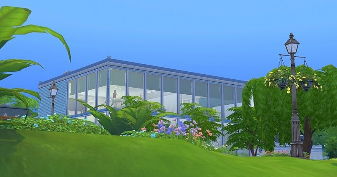 Sims 4 С Fitness lot by Dolkin at ihelensims