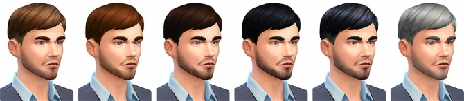 Le Pianiste haircut at Simsontherope image 1008 Sims 4 Updates
