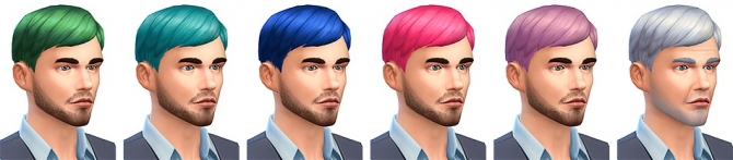 Le Pianiste haircut at Simsontherope image 10112 Sims 4 Updates