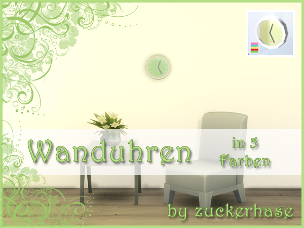 Sims 4 Watches by zuckerhase at    select a Sites
