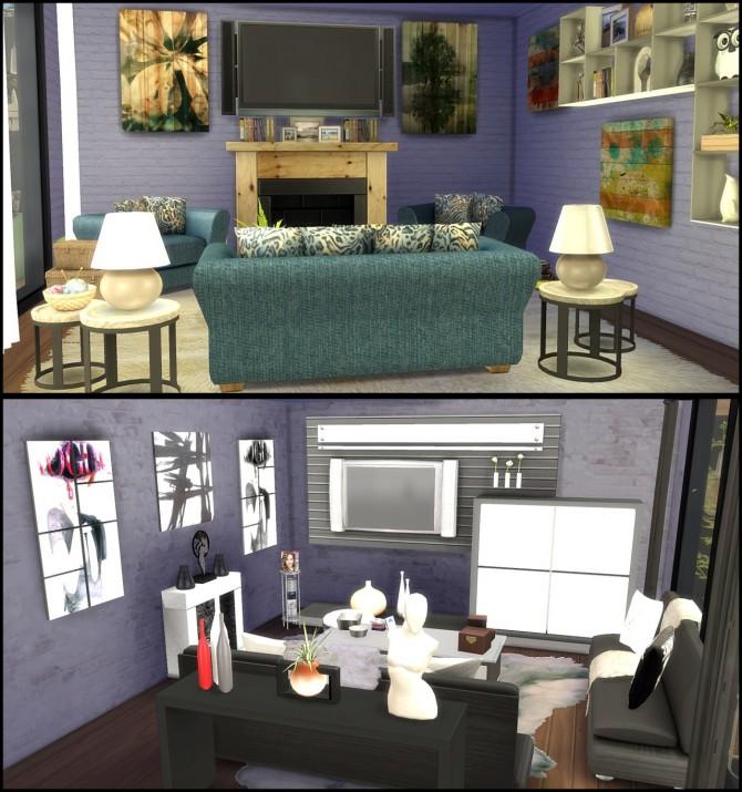 Sims 4 The doublemint duplex at Tacha 75