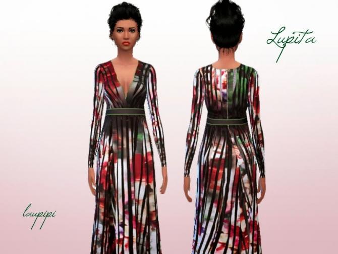 Sims 4 Lupitas dress at Laupipi