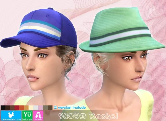 Sims 4 YU093 Rachel hair (Pay) at Newsea Sims 4