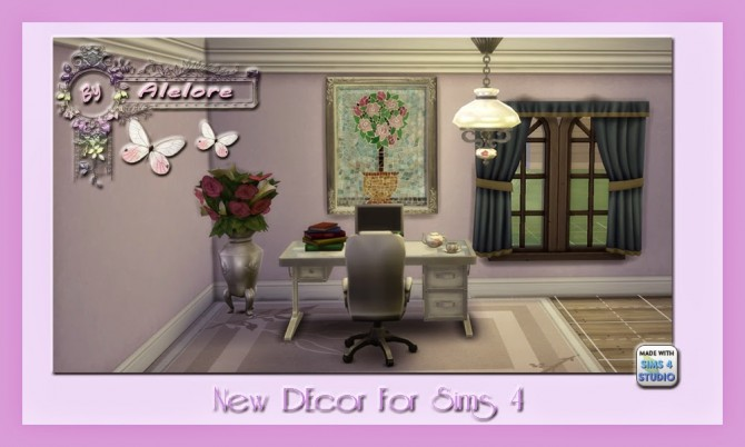Sims 4 Paintings and rugs at Alelore Sims Blog