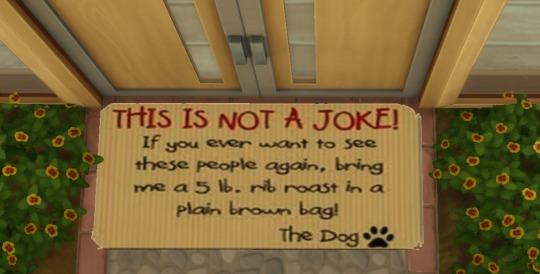 Sims 4 Funny Doormats at Amberlyn Designs