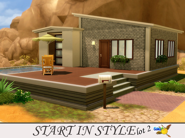Start in Style lot 2 by evi at TSR image 1107 Sims 4 Updates
