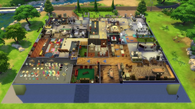 Simkea 60 Rooms From 10 Italian Artists At The Sims 4