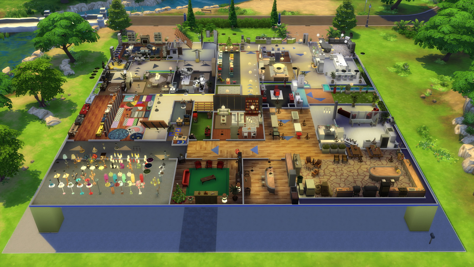 how to raise objects in sims 4