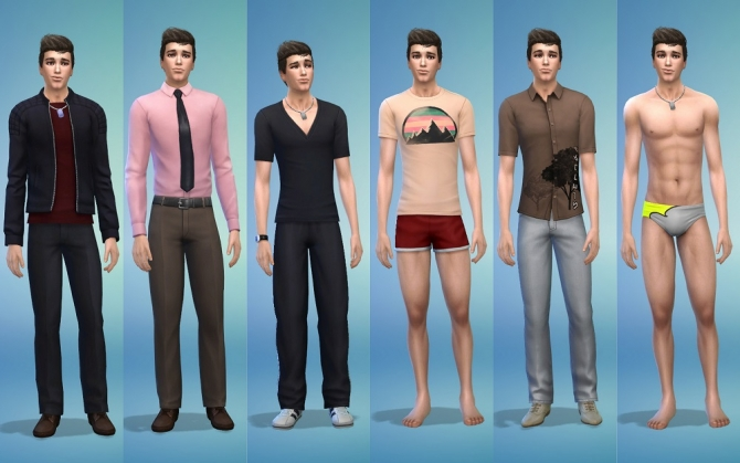 Sims 4 Robert by ihelen at ihelensims
