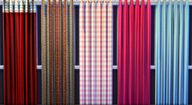 Curtains and rugs by Oldbox at All 4 Sims image 1139 Sims 4 Updates