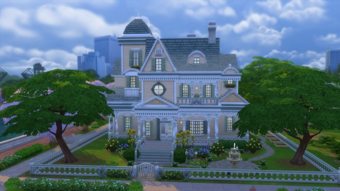 Sims 4 Daisy Lane Victorian at Simply Ruthless