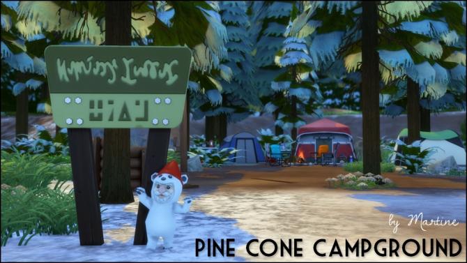 Pine Cone Campground at Martine's Simblr image 11613 Sims 4 Updates
