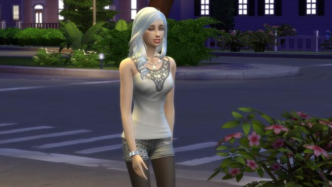 Sims 4 Vega Blue by TheReds at Thomas J Chee