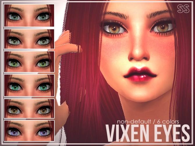 Vixen eyes at senpai simmer image 1185 sims 4 updates