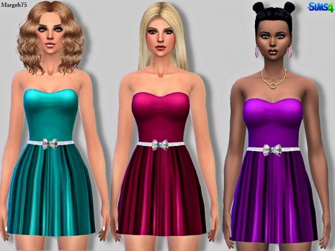 Sims 4 Zara Dress by Margie at Sims Addictions
