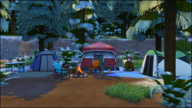 Pine Cone Campground at Martine's Simblr image 12015 Sims 4 Updates