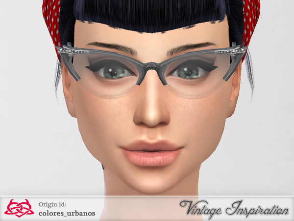 Cat Eye Glasses by Colores Urbanos at TSR image 12106 Sims 4 Updates