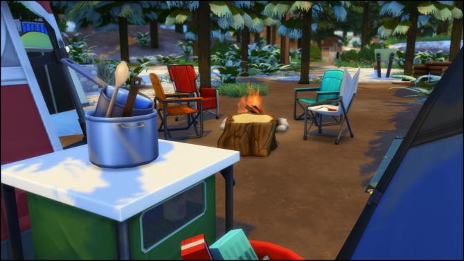 Pine Cone Campground at Martine's Simblr image 12117 Sims 4 Updates