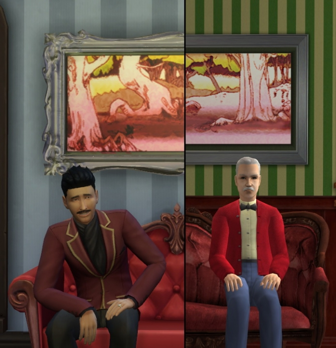93 paintings TS2 to TS4 conversion at Tukete image 12121 Sims 4 Updates