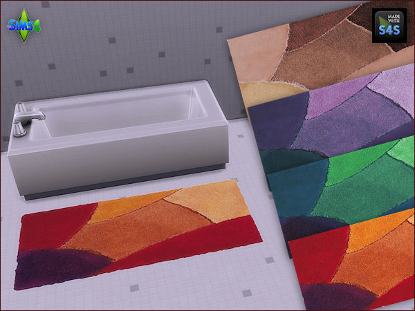 Sims 4 4 bath rugs at Arte Della Vita