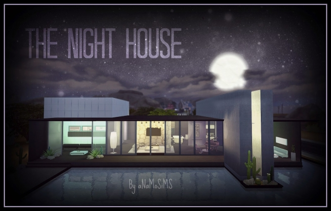 THE NIGHT HOUSE at Anamo Sims image 1255 Sims 4 Updates