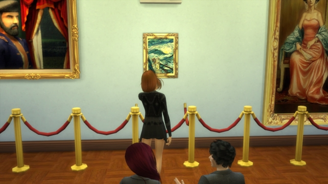 93 paintings TS2 to TS4 conversion at Tukete image 12615 Sims 4 Updates