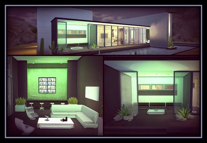THE NIGHT HOUSE at Anamo Sims image 1265 Sims 4 Updates