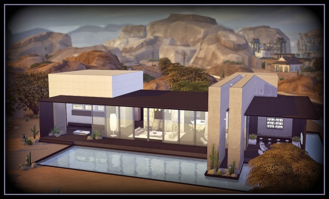 THE NIGHT HOUSE at Anamo Sims image 1275 Sims 4 Updates