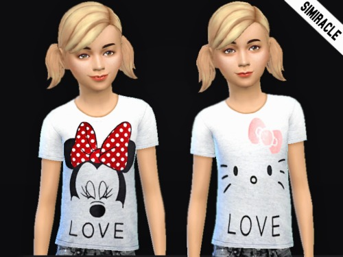Random Shirts for Kids at Simiracle image 1278 Sims 4 Updates