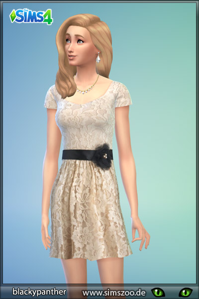 Sims 4 Evening dress 17 by Blackypanther at Blacky's Sims Zoo