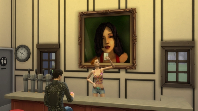 93 paintings TS2 to TS4 conversion at Tukete image 12813 Sims 4 Updates