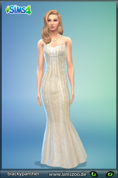 Sims 4 Evening dress 15 by Blackypanther at Blacky's Sims Zoo