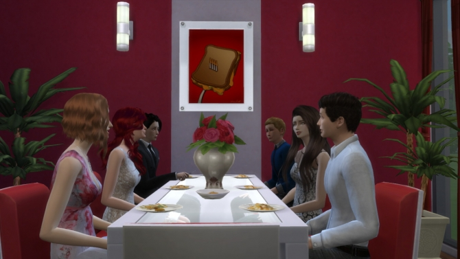 93 paintings TS2 to TS4 conversion at Tukete image 12914 Sims 4 Updates